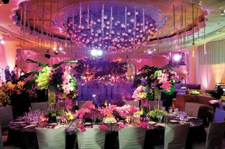 purple-wedding-reception-lighting-and-large-ceiling-treatment