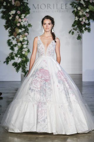 morilee-fall-2018-watercolor-floral-painted-taffeta-ball-gown-appliqued-intricately-beaded-bodice