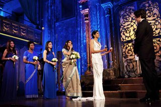 angel-orensanz-wedding-ceremony-with-bright-blue-lighting