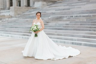 bride-in-justin-alexander-plain-ball-gown-sweetheart-neckline