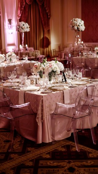 square-table-blush-metallic-palette-details-low-floral-centerpiece-classic-dallas-wedding-feminine