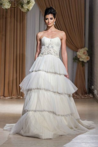 jean-ralph-thurin-fall-2016-strapless-wedding-dress-with-tiered-ball-gown-skirt