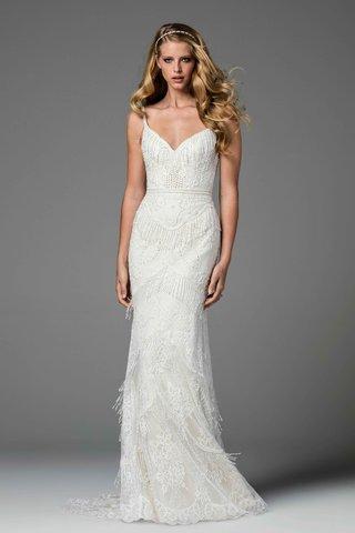 watters-2017-bridal-collection-ferrera-wedding-dress-v-neck-spaghetti-strap-fringe-lace-details
