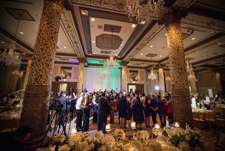 a-dance-floor-featuring-gold-and-champagne-detailing-in-a-chicago-ballroom