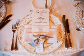 wedding-reception-charger-plate-pink-napkin-menu-card-wedding-favor-key-with-thank-you-note