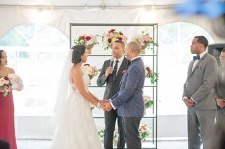 tented-wedding-ceremony-officiated-by-friend-of-the-bride-and-groom
