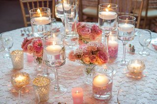 roses-and-floating-candles-in-monet-glass-vases