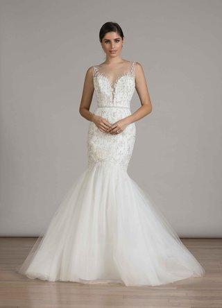 liancarlo-fall-2016-trumpet-wedding-dress-with-illusion-neckline