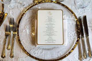 glass-charger-with-gold-rim-and-white-menu-with-gold-edge