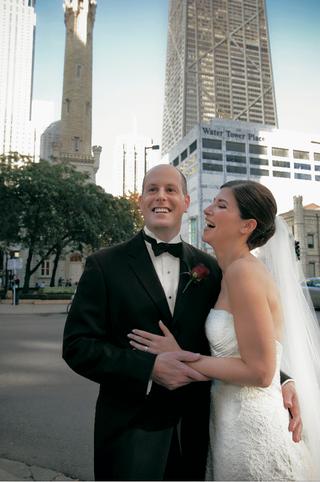 groom-in-tuxedo-and-bride-in-carolina-herrera