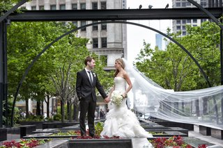 bride-in-vera-wang-gown-vera-wang-cathedral-veil-groom-in-hugo-boss