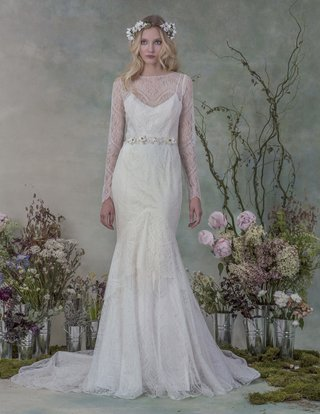 delphine-wedding-dress-with-lace-sleeves-by-elizabeth-fillmore-fall-2015
