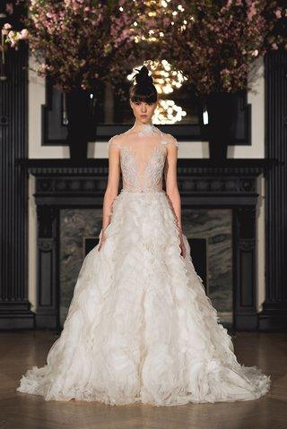 ines-di-santo-spring-2019-bridal-collection-wedding-dress-harper-a-line-ball-gown-illusion-bodice