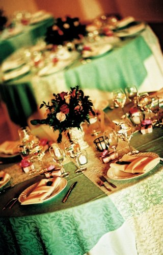 pattern-green-linens-with-white-lace-runner-and-small-centerpiece