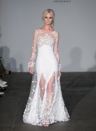 rime-arodaky-2018-bridal-collection-wedding-dress-sheer-long-sleeve-bridal-gown-two-slits-skirt