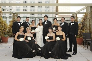 chicago-wedding-with-formal-attire-bridesmaids-and-groomsmen