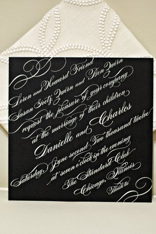 wedding-invite-on-black-paper-with-white-calligraphy