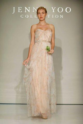jenny-yoo-bridesmaids-2016-strapless-flower-print-bridesmaid-dress