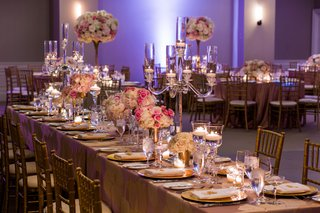 wedding-reception-head-table-blush-and-ivory-flowers-crystal-candelabra