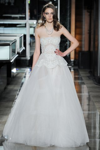 a-scallop-embroidered-illusion-strapless-tulle-ball-gown-with-a-peplum-by-reem-acra