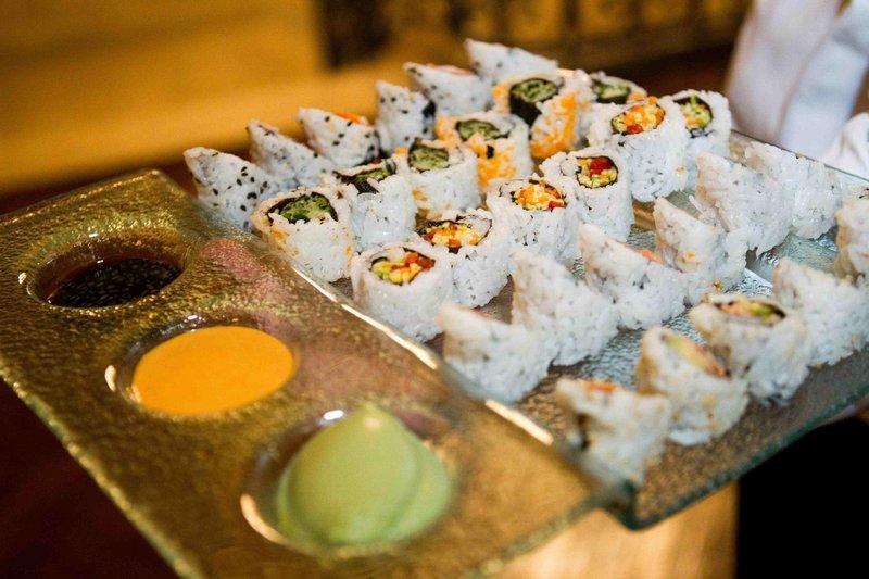Tray-Passed Sushi