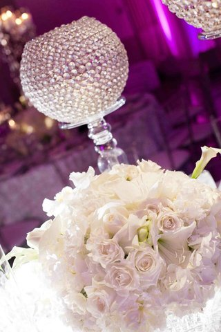 white-floral-arrangement-and-clear-crystals