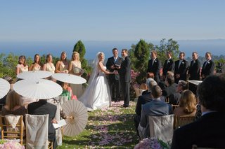 bridesmaids-and-groomsmen-at-altar