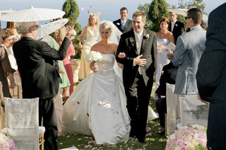 isabelle-bridges-and-husband-exiting-ceremony