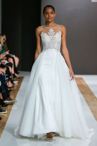 mark-zunino-spring-2018-wedding-dress-illusion-neckline-bridal-gown-overskirt-a-line-embroidery