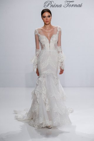pnina-tornai-for-kleinfeld-2017-dimensions-collection-mermaid-wedding-dress-with-lace-long-sleeves