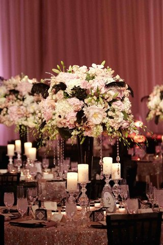 crystal-embellished-details-and-black-feather-centerpiece