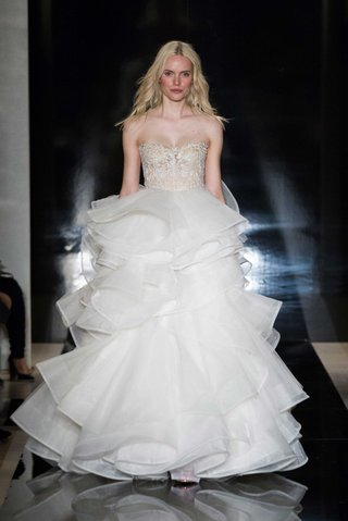 reem-acra-spring-2017-strapless-ball-gown-wedding-dress-with-illusion-bodice-and-layered-tier-skirt