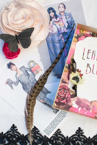 feather-fashion-clothes-ad-print-black-butterfly-pink-rose-stationary