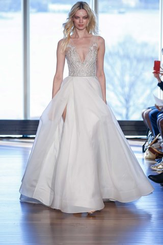 rivini-margaux-wedding-dress-a-line-gown-with-slit-and-beaded-deep-v-bodice