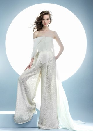 angel-sanchez-spring-2016-collection-wide-leg-pants-and-sheer-top-with-train