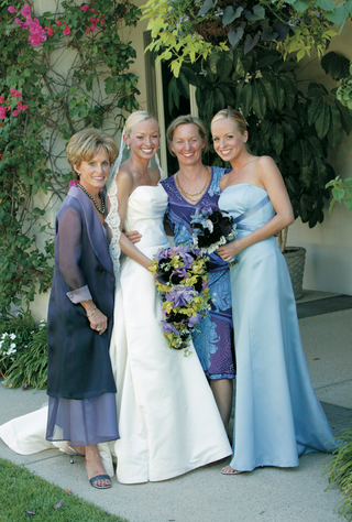 mother-of-the-bride-attire-and-bridesmaid-dress