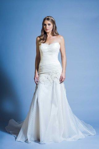 jinza-couture-bridal-2016-strapless-church-wedding-dress-for-petite-brides