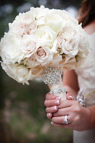 white-rose-light-pink-rose-wedding-flower-bouquet