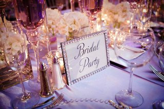 rhinestone-picture-frame-for-wedding-table-numbers