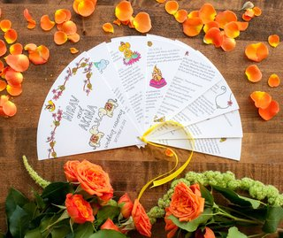 wedding-ceremony-program-with-hand-drawn-details-illustrations-traditions