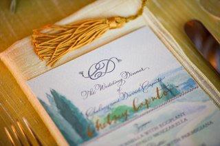 wedding-reception-menu-with-a-watercolor-rendering-of-the-tuscan-countryside