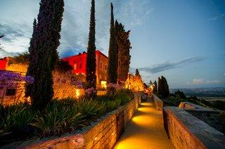 castiglion-del-bosco-bathed-in-golden-lighting-at-dusk