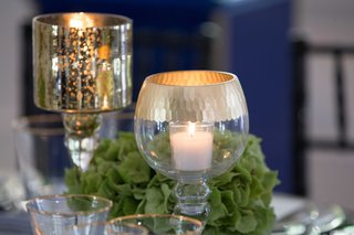 gold-and-green-decor-blue-and-white-wedding-southern-inspired-wedding-candle-votives