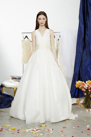 v-neck-deville-ball-gown-with-ivory-belt-by-dee-hutton