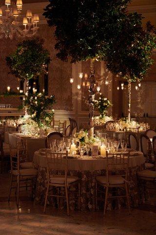 the-breakers-wedding-tree-centerpieces-candelabra-on-trees