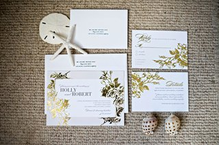 gold-foil-wedding-invitation-suite-with-white-envelope-and-calligraphy