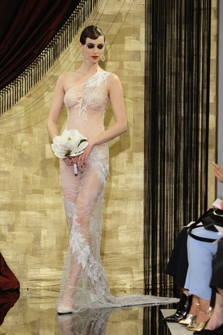sheer-nearly-naked-wedding-dress-with-one-shoulder-strap