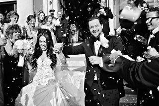 black-and-white-photo-of-couple-exiting-ceremony