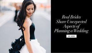 real-brides-share-the-unexpected-aspects-of-planning-a-wedding