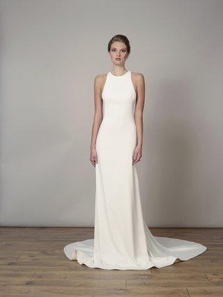 style-7830-by-liancarlo-spring-2018-matte-crepe-high-neck-sheath-gown-with-open-back-detail